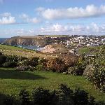 View from Bre Pen Farm