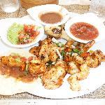 Tacos de Camaron (Delicious) at The Grill