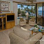 Breathtaking Views from the Living Area through the Corner Window and Lanai
