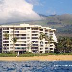 Polo Beach Club with Haleakala Behind