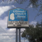 Ultimate Omelet House, Daytona Beach, Florida