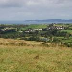 View from hill across the road fromTeach an Cheoil B&B