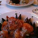 seafood linguini and filet