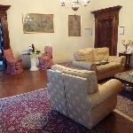Living Room of Giuseppe Suite