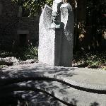 Sculpture d'une personne ayant comptée dans l'histoire de la ville