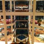 L'interno dell'hotel