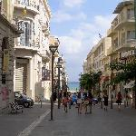 Via del centro di Heraklion