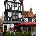 The old real ale pub opposite Spread Eagle