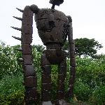 Massive robot from Laputa (3 or 4m high I think?)