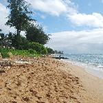Spiaggia dell' hotel...