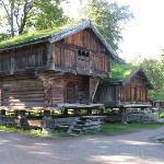 Authentic farm buildings