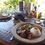 Ayam Goreng Bumbu Kecap and Nasi Campur