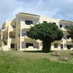 Clube Brisamar, Alvor - view of front of apartment  (The Mushroom Tree)