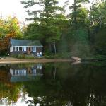 View of Cottage 7 from the lake