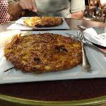 Hungarian Omelet at breakfast