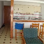 kitchen+ livingroom