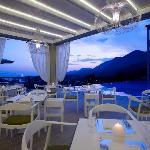 Salvator Restaurant view to Ionian