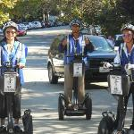 Segway, the only way.
