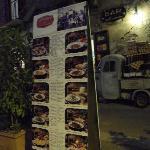 menù dell'osteria agli Antichi Sapori