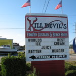 kill devil hills custard