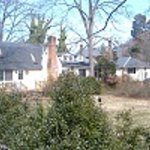 Mainhouse & Cottage west view