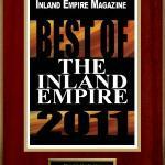 Inland empire Magazine Award 2011