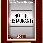 Hot 100 Award by Inland Empire Magazine 2011