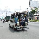 white baht bus