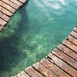 la trasparenza del lago
