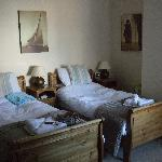 Our Twin room that we stayed in