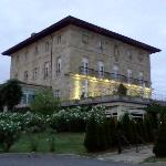 El Palacio Urgoiti al atardecer