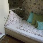 Room 402 single bed