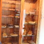 the cupboard full of goodies