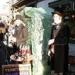 A mulled wine stall