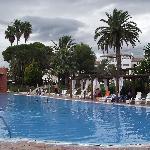 une des piscine de l'hôtel