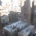 View from our room (16th floor)