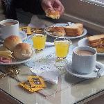 Desayuno tipo