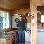 Kitchen of Codfish Cottage @ Wiskey Creek Beach Cabins
