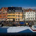 View of Nyhavn from my window