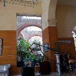 Lobby e vista snack bar, Hotel Telegrafo, L'Avana