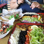 Their fish tacos, yum!