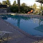Pool in early evening
