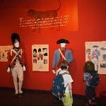 Exhibit on animals in the war