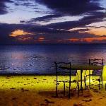 Strand in Abendstimmung