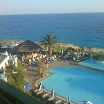 The hotel resort