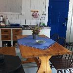 The kitchenet