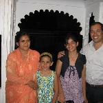 Jaideep and Nitika Singh (owners) and daughters
