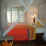 OUR BED ROOMS WITH MOSQUITO NETS