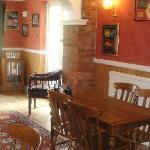 The dinning room.