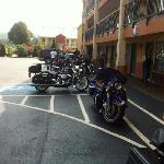 Arrival at Best Western, Cartersville after 600 miles on the road!